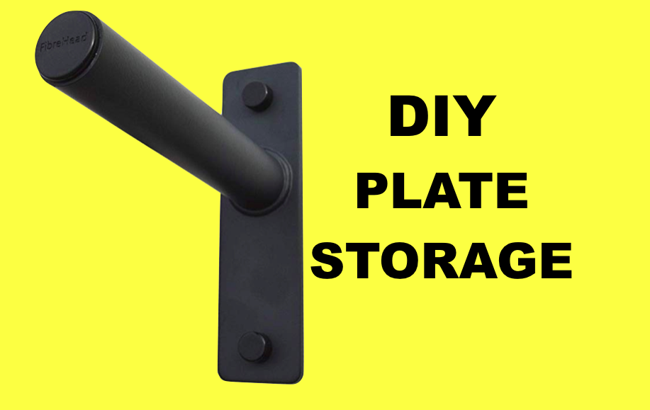 Diy Per Plate Rack Wall Mounted Weight